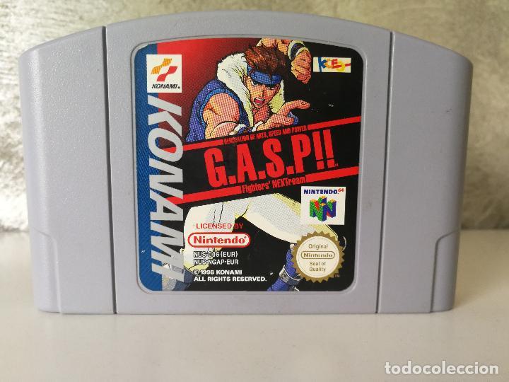 GASP!! NINTENDO 64 N64 (Juguetes - Videojuegos y Consolas - Nintendo - Nintendo 64)