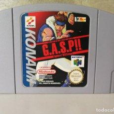 Videojuegos y Consolas: GASP!! NINTENDO 64 N64. Lote 122172675