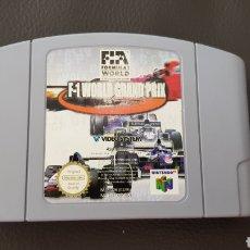 Videojuegos y Consolas: F1 WORLD GRAND PRIX NINTENDO 64 FIFA FORMULA WORLD CARTUCHO JUEGO. Lote 122883446