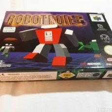 Videojuegos y Consolas: JUEGO PARA NINTENDO 64 ROBOTRON 64 APENAS JUGADO COMPLETO. Lote 123402496