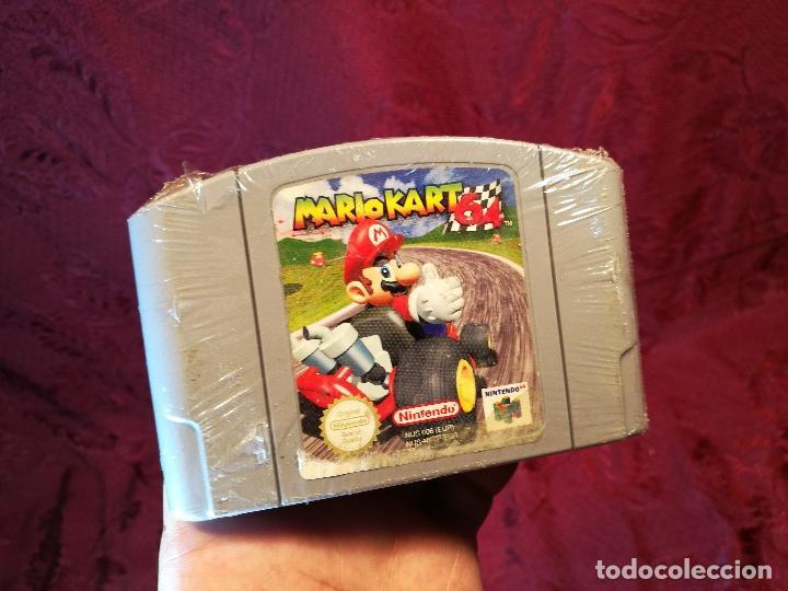 MARIO KART 64 ( NINTENDO 64-PAL-EURO) PRECINTADO JAMAS JUGADO,,,SIN CAJA (Juguetes - Videojuegos y Consolas - Nintendo - Nintendo 64)