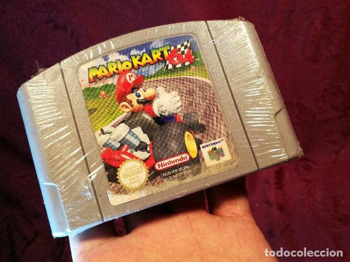 Videojuegos y Consolas: Mario Kart 64 ( Nintendo 64-Pal-Euro) PRECINTADO JAMAS JUGADO,,,SIN CAJA - Foto 2 - 125320719