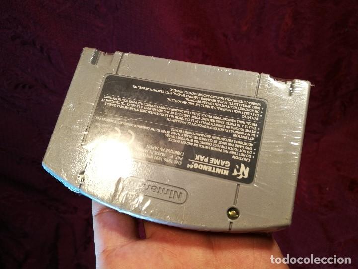Videojuegos y Consolas: Mario Kart 64 ( Nintendo 64-Pal-Euro) PRECINTADO JAMAS JUGADO,,,SIN CAJA - Foto 4 - 125320719