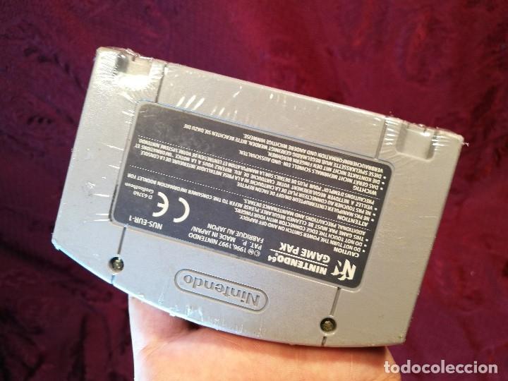 Videojuegos y Consolas: Mario Kart 64 ( Nintendo 64-Pal-Euro) PRECINTADO JAMAS JUGADO,,,SIN CAJA - Foto 5 - 125320719