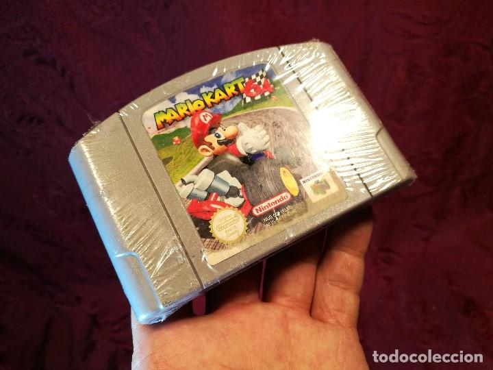 Videojuegos y Consolas: Mario Kart 64 ( Nintendo 64-Pal-Euro) PRECINTADO JAMAS JUGADO,,,SIN CAJA - Foto 7 - 125320719