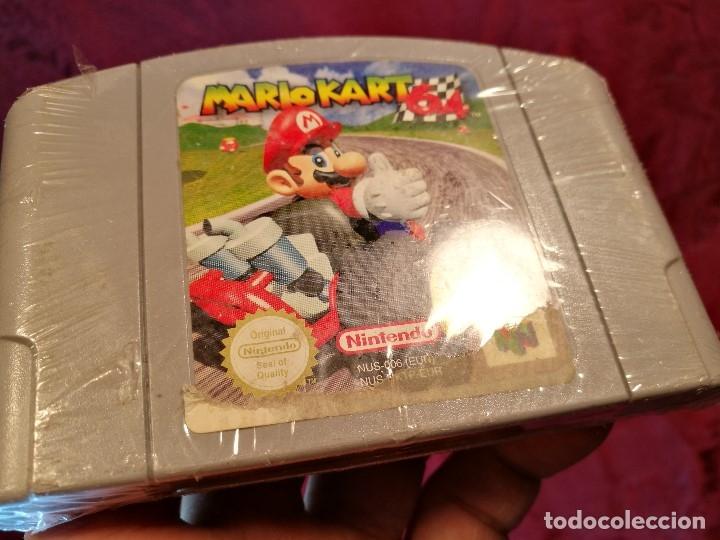 Videojuegos y Consolas: Mario Kart 64 ( Nintendo 64-Pal-Euro) PRECINTADO JAMAS JUGADO,,,SIN CAJA - Foto 8 - 125320719