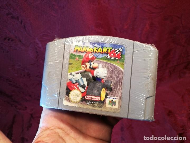 Videojuegos y Consolas: Mario Kart 64 ( Nintendo 64-Pal-Euro) PRECINTADO JAMAS JUGADO,,,SIN CAJA - Foto 9 - 125320719