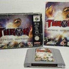 Videojuegos y Consolas: TUROK RAGE WARS NINTENDO 64 N64. Lote 128323875