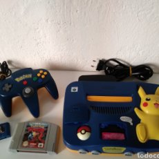 Videojuegos y Consolas: NINTENDO 64-EDICION POKEMON PIKACHU.. Lote 128532750