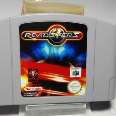 Videojuegos y Consolas: ROADSTERS ( NINTENDO 64 - PAL - EURO). Lote 130436766