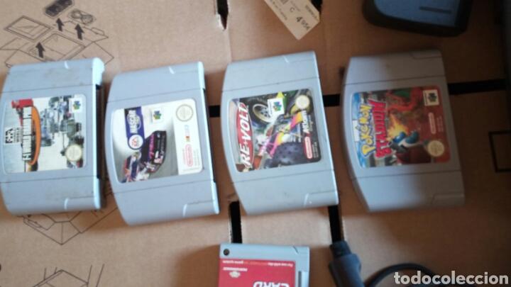 Videojuegos y Consolas: Nintendo 64 +juegos 4.+ memory card - Foto 2 - 131250864