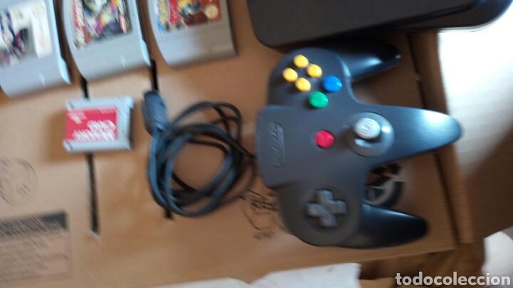 Videojuegos y Consolas: Nintendo 64 +juegos 4.+ memory card - Foto 3 - 131250864