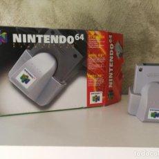 Videojuegos y Consolas: RUMBLE PAK N64 CON CAJA. Lote 133449614