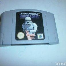 Videojuegos y Consolas: STAR WARS SHADOWS OF THE EMPIRE NINTENDO 64 PAL ESPAÑA. Lote 133500786