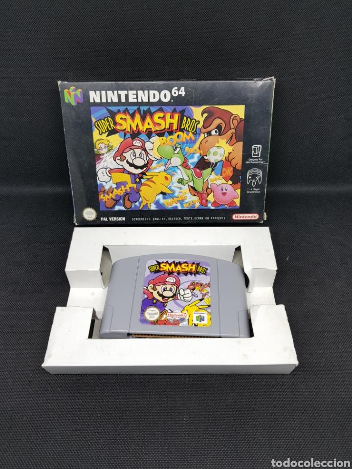 NINTENDO 64 - JUEGO SUPER SMASH BROS - CAR159 (Juguetes - Videojuegos y Consolas - Nintendo - Nintendo 64)