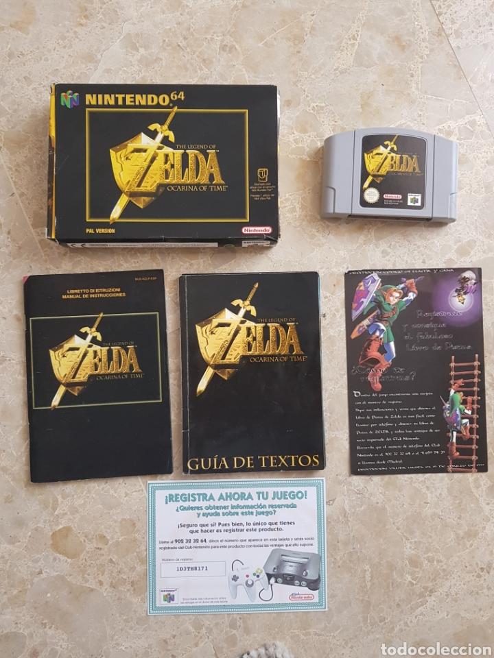 The Legend of Zelda, Ocarina of Time. Nintendo 64 segunda mano