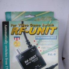 Videojuegos y Consolas: RF UNIT COMPATIBLE NINTENDO 64 NUEVO ESTRENAR. Lote 137406714