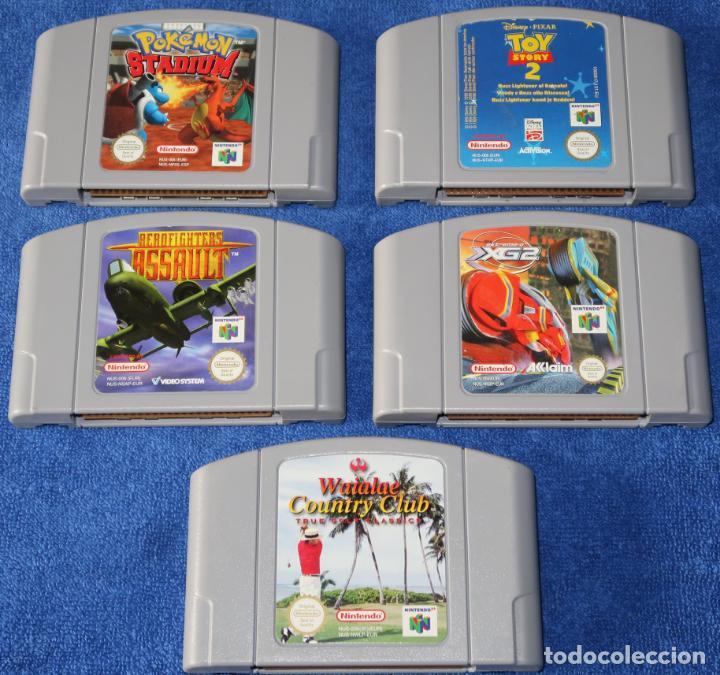 Lote De Juegos Nintendo 64 Comprar Videojuegos Y Consolas