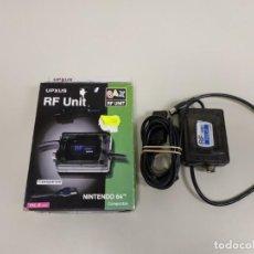 Videojuegos y Consolas: 1118- RF UNIT UPXUS COMPATIBLE CON NINTENDO 64 NUEVO - VIEJO STOCK . Lote 140696070
