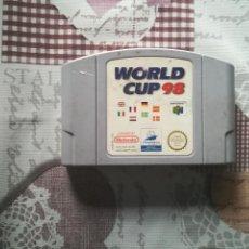 Videojuegos y Consolas: WORLD CUP 98 NINTENDO 64. Lote 141494814