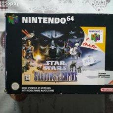 Videojuegos y Consolas: STAR WARS SHADOWS OF THE EMPIRE NINTENDO 64. Lote 141525218