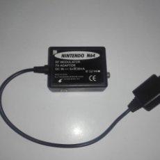 Videojuegos y Consolas: CABLE MODULADOR RF PARA ANTENA NINTENDO 64. Lote 141555390