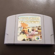 Videojuegos y Consolas: JUEGO NINTENDO 64 STAR WARS EPISODE 1 RACER CARTUCHO. Lote 141559272