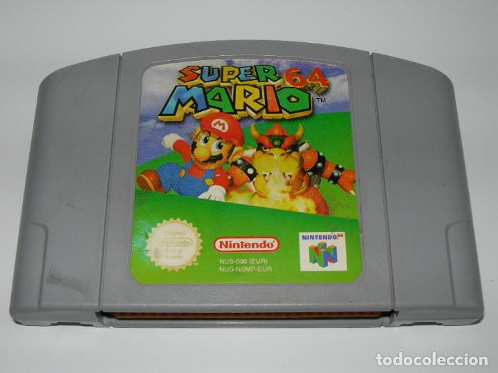 Juego Super Mario 64 Para Consola Nintendo 64 Comprar