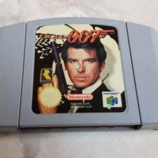 Videojuegos y Consolas: JUEGO ORIGINAL NINTENDO 64 GOLDEN EYE 007. Lote 142325982
