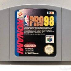 Videojuegos y Consolas: NBA PRO 98 NINTENDO 64 N64. Lote 142359094