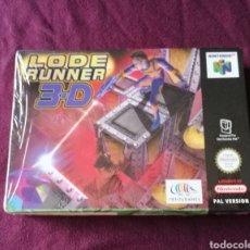 Videogiochi e Consoli: LODE RUNNER N64 NINTENDO PRECINTATO. Lote 143431604