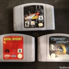 Videojuegos y Consolas: LOTE DE 3 JUEGOS NINTENDO 64. Lote 144015142