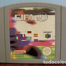 Videojuegos y Consolas: JUEGO FIFA 98 - NINTENDO 64. Lote 144473794