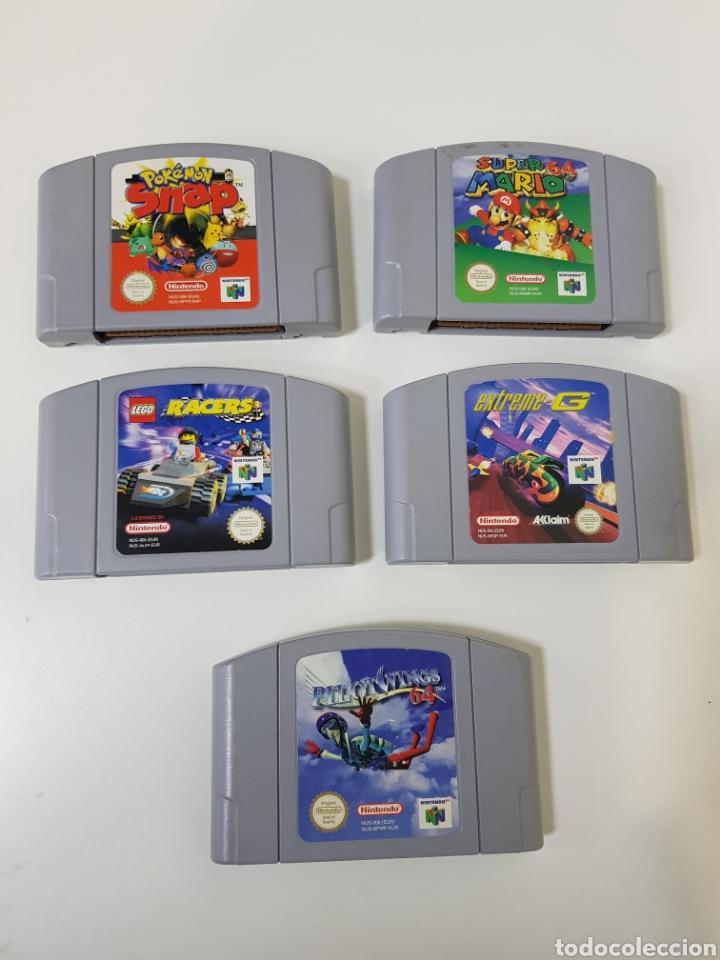 Lote 5 Juegos Nintendo 64 Super Mario 64 Le Comprar