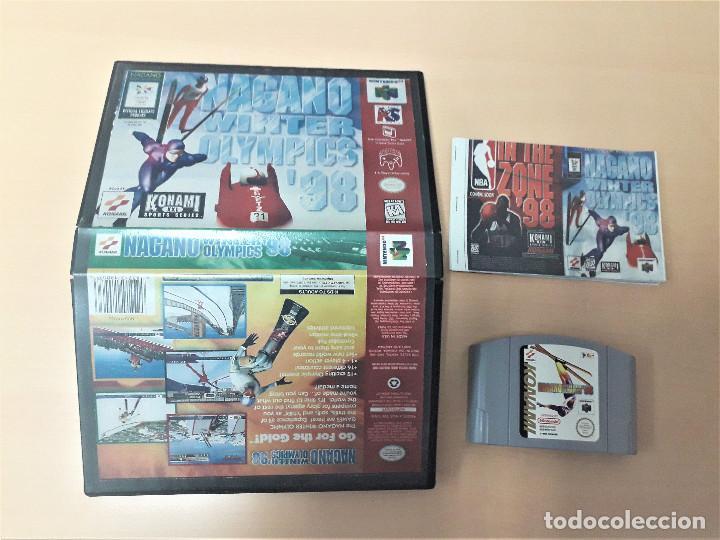 08-00305 NINTENDO 64- NAGANO WINTER GAMES 98 (Juguetes - Videojuegos y Consolas - Nintendo - Nintendo 64)