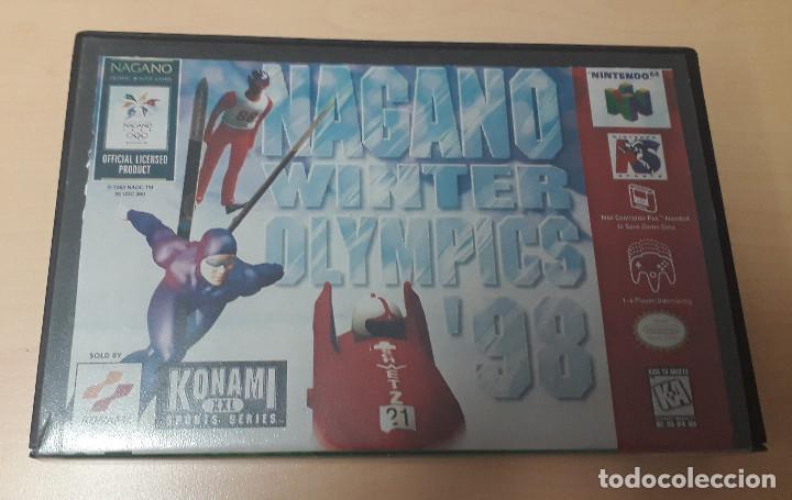 Videojuegos y Consolas: 08-00305 NINTENDO 64- NAGANO WINTER GAMES 98 - Foto 4 - 144577858