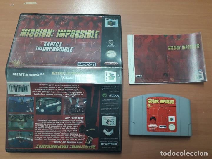 08-00306 NINTENDO 64- MISSION IMPOSSIBLE (Juguetes - Videojuegos y Consolas - Nintendo - Nintendo 64)