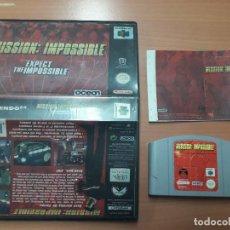 Videojuegos y Consolas: 08-00306 NINTENDO 64- MISSION IMPOSSIBLE. Lote 144577878