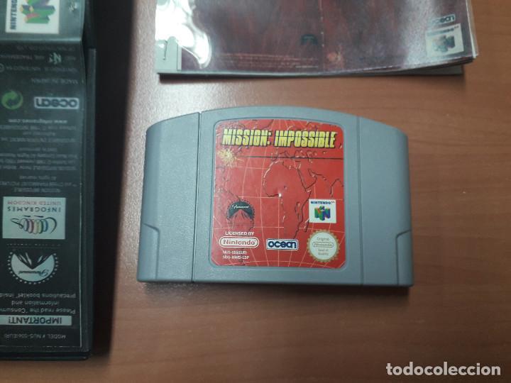 Videojuegos y Consolas: 08-00306 NINTENDO 64- MISSION IMPOSSIBLE - Foto 2 - 144577878