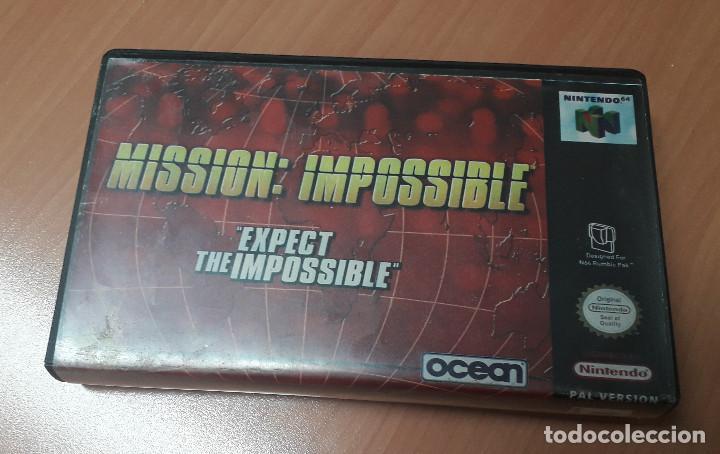Videojuegos y Consolas: 08-00306 NINTENDO 64- MISSION IMPOSSIBLE - Foto 4 - 144577878