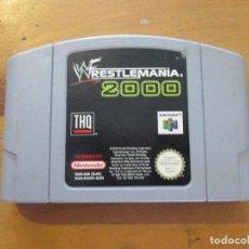 Videojuegos y Consolas: WRESTLEMANIA 2000 SOLO CARTUCHO. Lote 144920018