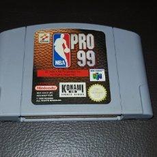 Videojuegos y Consolas: JUEGO NINTENDO 64 NBA PRO 99. Lote 145706754