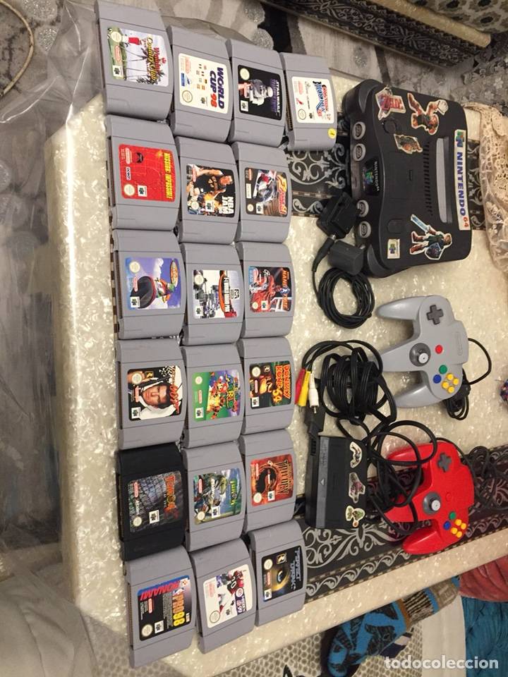 Video Games and Consoles: Consola Nintendo64 completa con 19 juegos - Foto 2 - 145774328