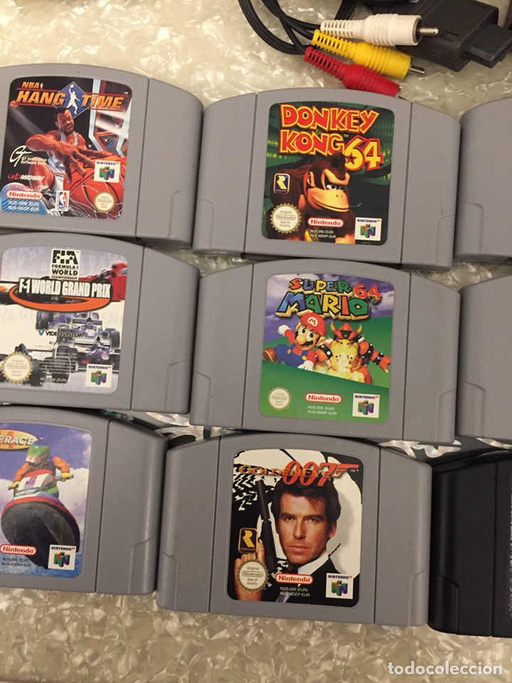 Video Games and Consoles: Consola Nintendo64 completa con 19 juegos - Foto 5 - 145774328