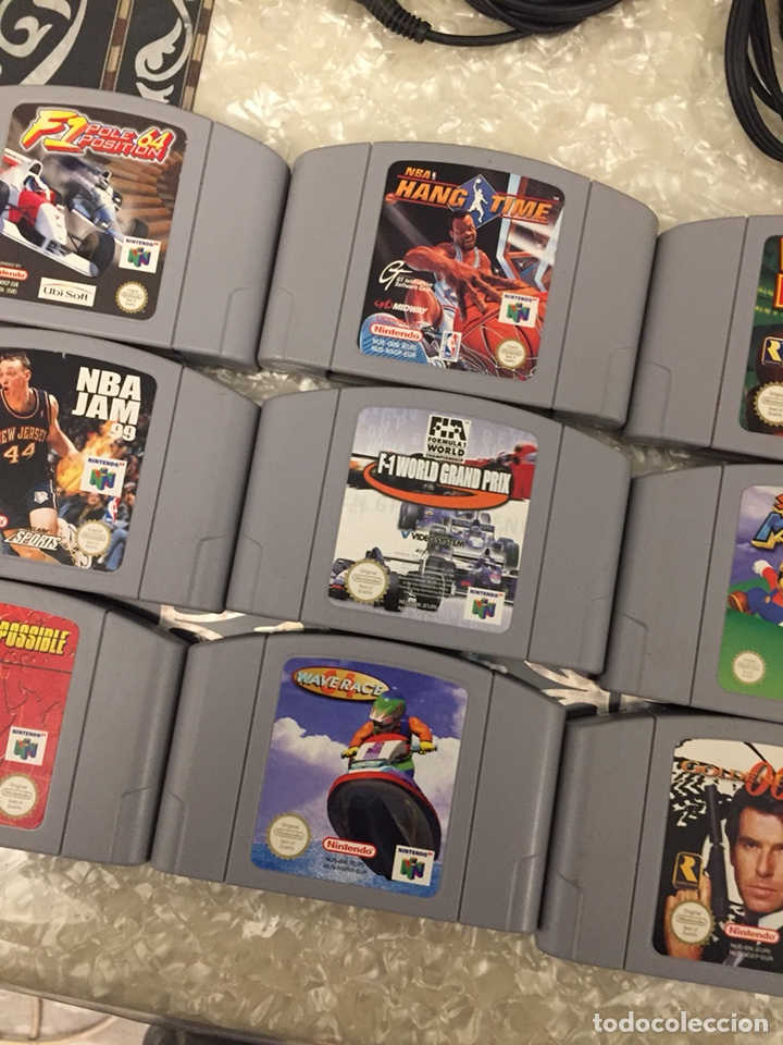 Video Games and Consoles: Consola Nintendo64 completa con 19 juegos - Foto 6 - 145774328