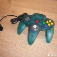 Videojuegos y Consolas: N64 NINTENDO 64 MANDO CONTROLLER CLEAR ICE BLUE PAL. Lote 145892530