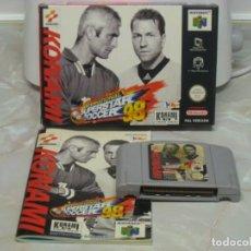 Videojuegos y Consolas: JUEGO DE CARTUCHO NINTENDO 64 COMPLETO. Lote 179034428