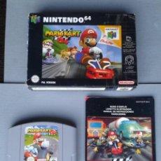 Videojuegos y Consolas: JUEGO NINTENDO 64 MARIO KART 64 COMPLETO CON CAJA BOXED CIB PAL ESPAÑA N64 R8284. Lote 147071762