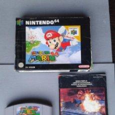 Videojuegos y Consolas: JUEGO NINTENDO 64 SUPER MARIO 64 COMPLETO CON CAJA BOXED CIB PAL ESPAÑA N64 R8282. Lote 147072534