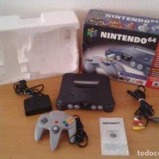 Videojuegos y Consolas: CONSOLA NINTENDO 64 N64 COMPLETA CON CAJA Y MANUAL TODO ORIGINAL MAGNIFICA PAL R8286. Lote 147148154